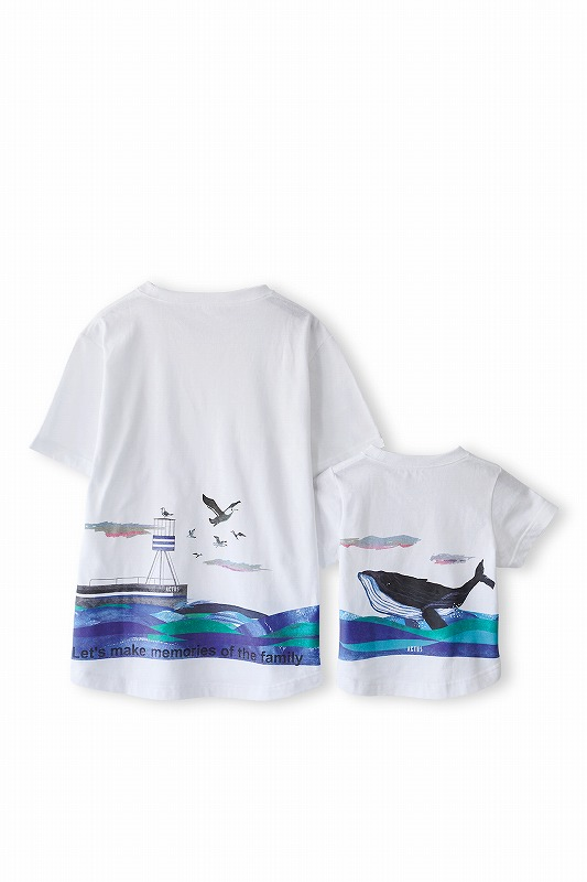 親子の絆をTシャツで語る